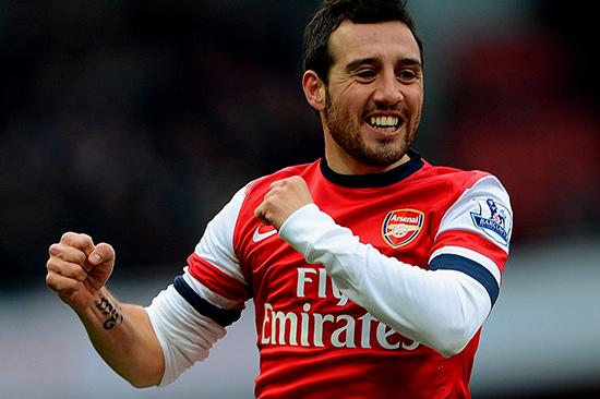 Arsenal Kesulitan Menemukan Pengganti Santi Cazorla