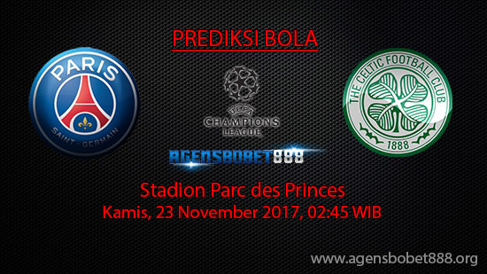 Prediksi Bola Paris Saint-Germain vs Glasgow Celtic
