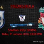Prediksi Huddersfield Town vs Liverpool 31 Januari 2018