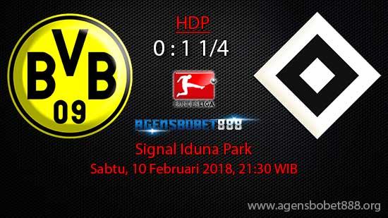 Prediksi Bola Borussia Dortmund vs Hamburg SV 10 Februari 2018